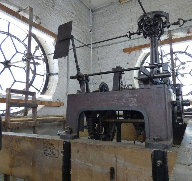 Hyde Town Hall Clock mechanisim