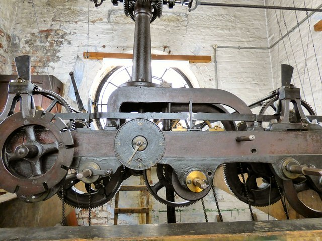 Hyde Town Hall clock mechanism