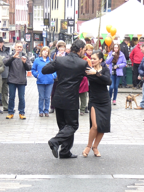 Tango demonstration