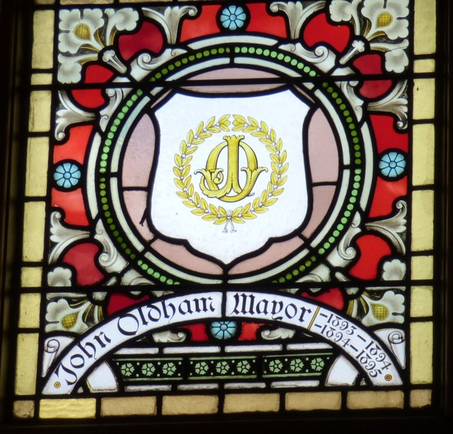 Mayoral Window: John Oldham