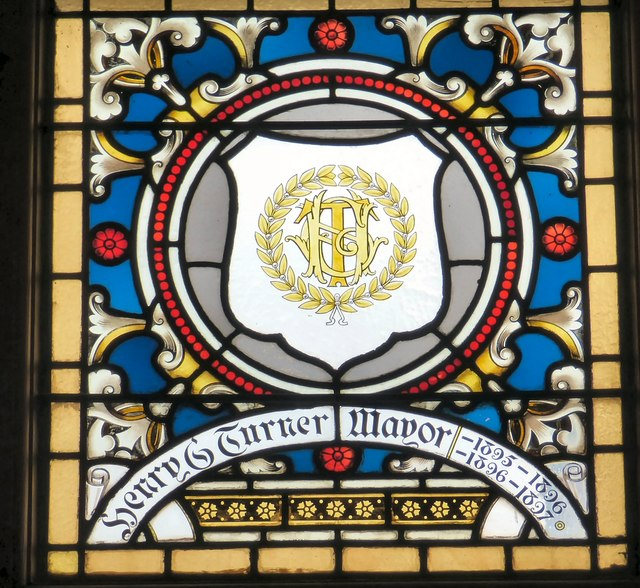 Mayoral Window: Henry G Turner