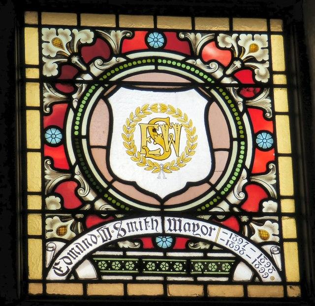 Mayoral Window: Edmund W Smith