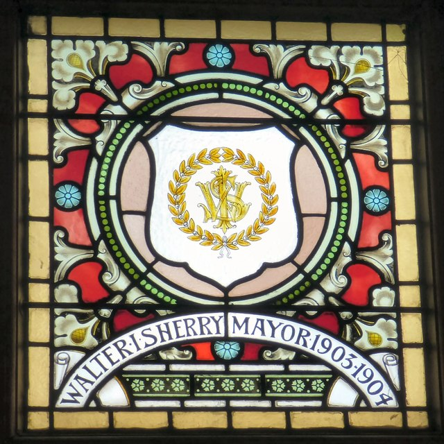 Mayoral Window: Walter I Sherry