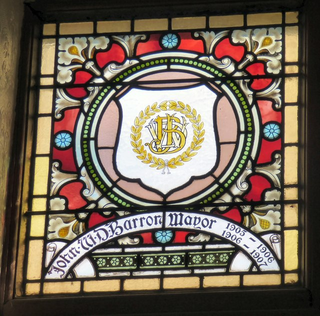 Mayoral Window: John W D Barron