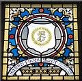 SJ9494 : Mayoral Window: Samuel Fildes by Gerald England