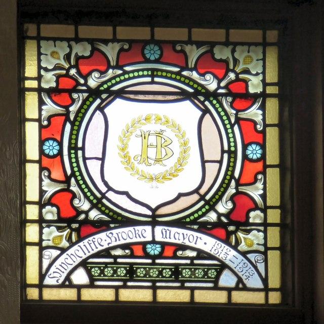 Mayoral Window: Hinchliffe Brooke