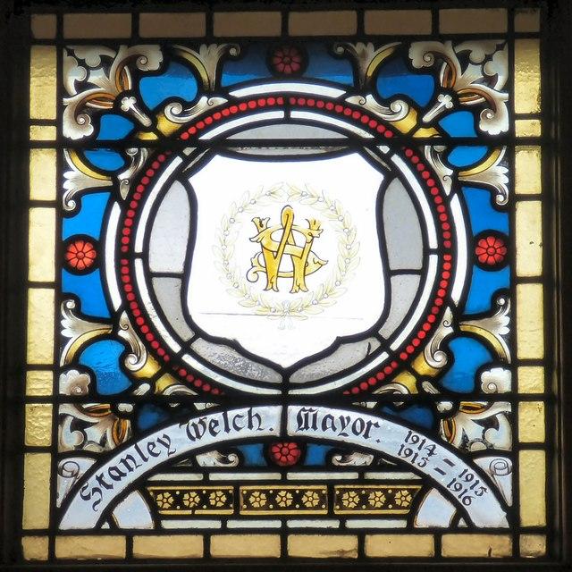 Mayoral Window: Stanley Welch