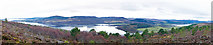 NH6589 : Panorama over the Dornoch Firth from A'Chraisg by Julian Paren