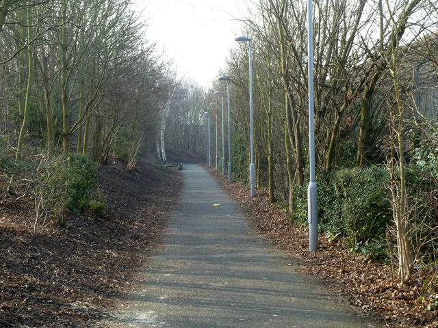 Path towards Kidbrooke station