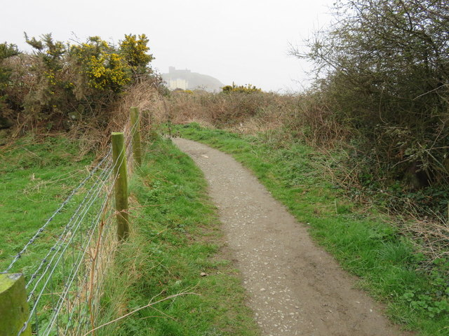 Wales Coastal Path west of Criccieth
