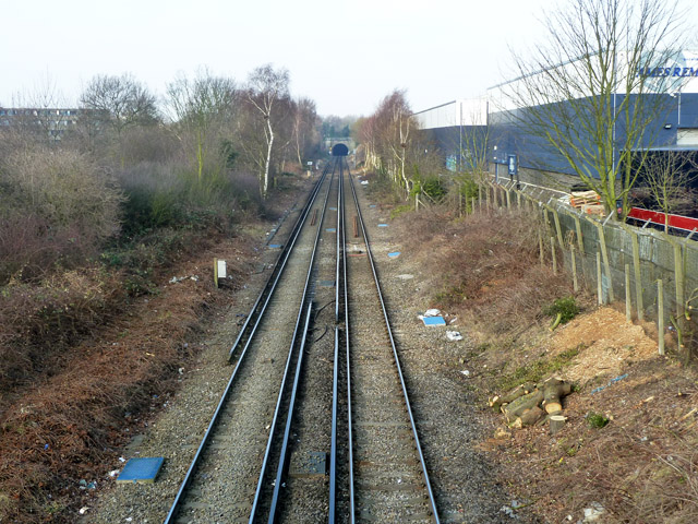 Bexleyheath Line west of Kidbrooke station