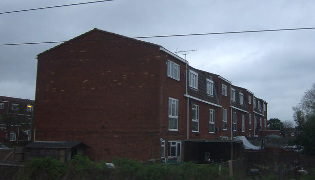Houses on Tallis Way, Borehamwood