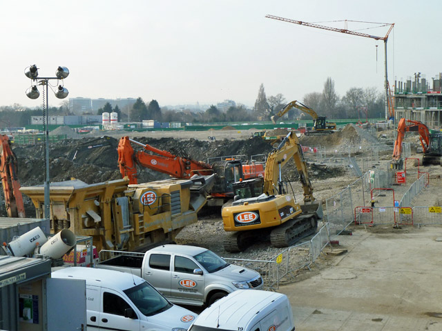Demolition and construction, Kidbrooke