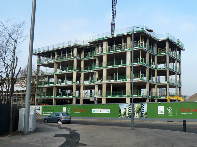 Wallace Court under construction