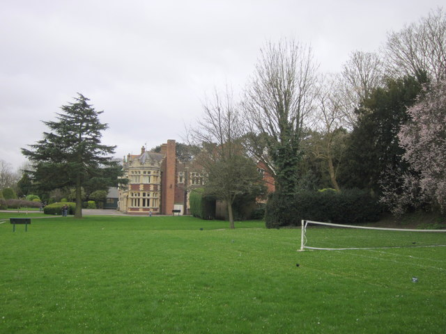 Bletchley Park Mansion From Tennis Court
