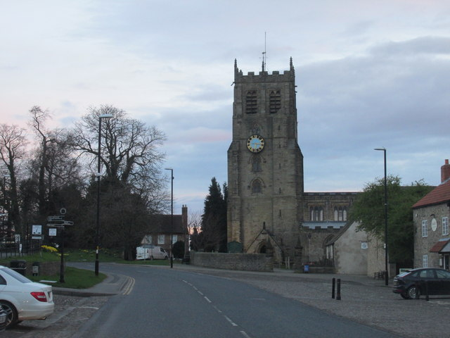 St Gregory's church in Bedale