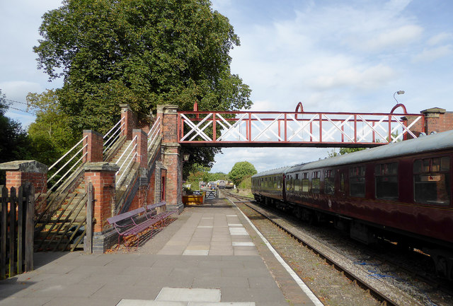 Shackerstone Station in Leicestershire