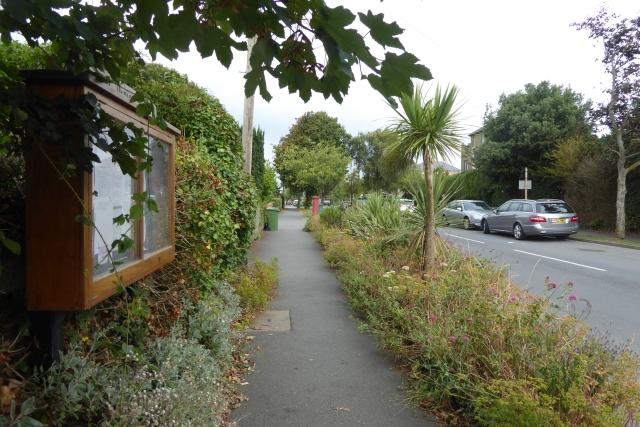 Noticeboard along Worsley Road