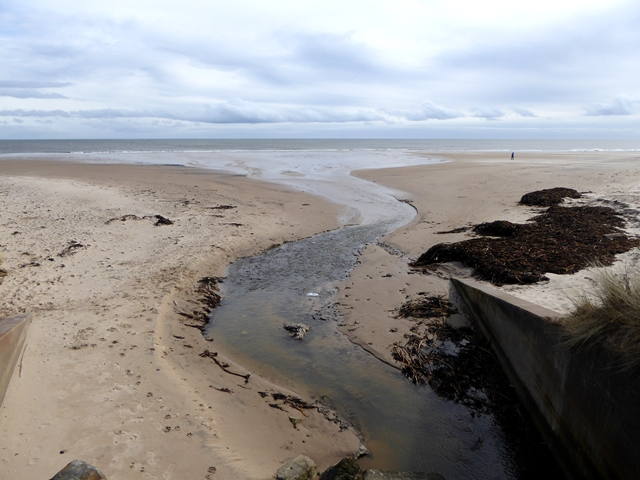 Mouth of Chevington Burn