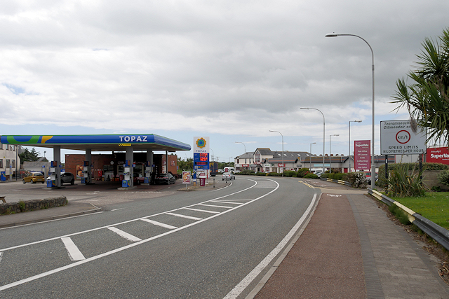 Rosslare Harbour, St Patrick's Road (N25)