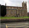 SO1091 : Former St David's Church, Newtown by Jaggery