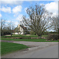 TL2544 : Eyeworth Lodge Farmhouse by John Sutton