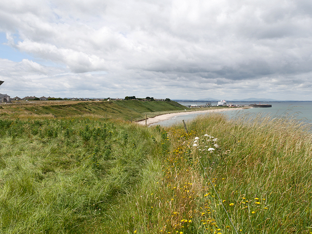 Coastal Path towards Rosslare Harbour