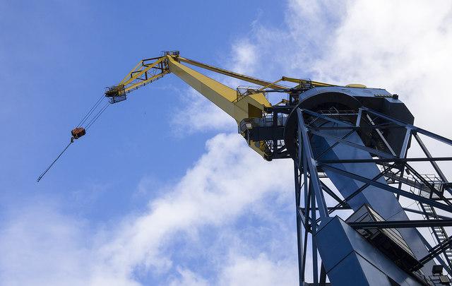 Henson crane, Belfast Dry Dock
