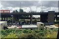 SP0890 : Highways depot alongside the Aston Expressway, Aston, Birmingham by Robin Stott