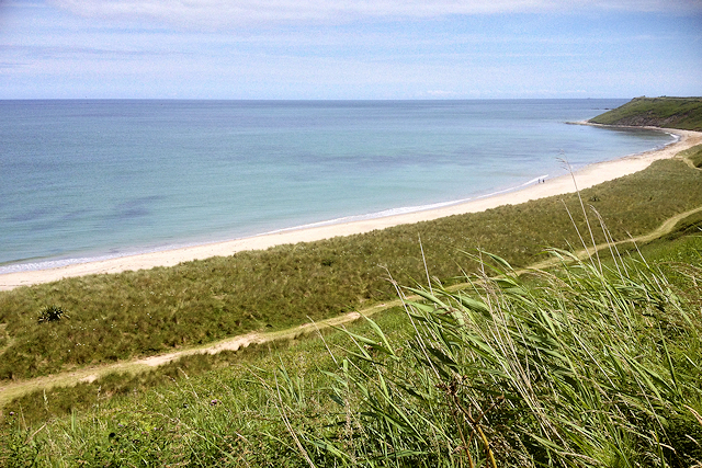 Coastal Path South of Rosslare Harbour