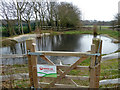 TQ4368 : Pond, Jubilee Country Park by Robin Webster