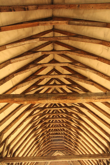 Duxford Chapel roof
