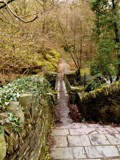Footpath to Dolbadarn Castle