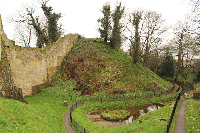 Tonbridge Castle motte