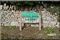 NX8361 : Rounall Wood Car Park Sign by Billy McCrorie