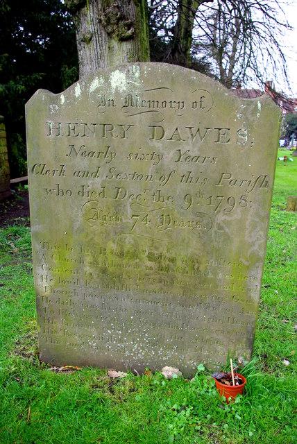 Grave of Henry Dawes