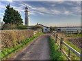 SJ4780 : Track to Hale Head Lighthouse by David Dixon