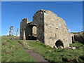 SW3633 : The calciner at Botallack Mine by Gareth James