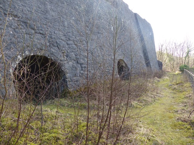 Lime kilns at Millers Dale