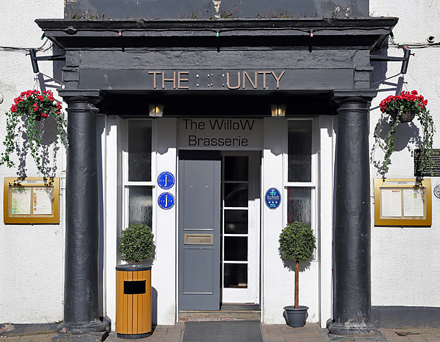 The **unty Hotel, Selkirk
