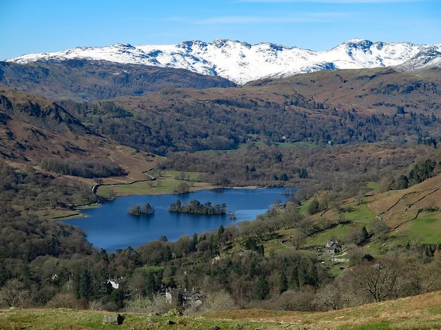 Rydal Water from the east