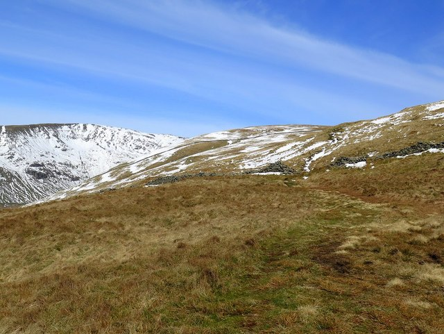 Path south of High Pike