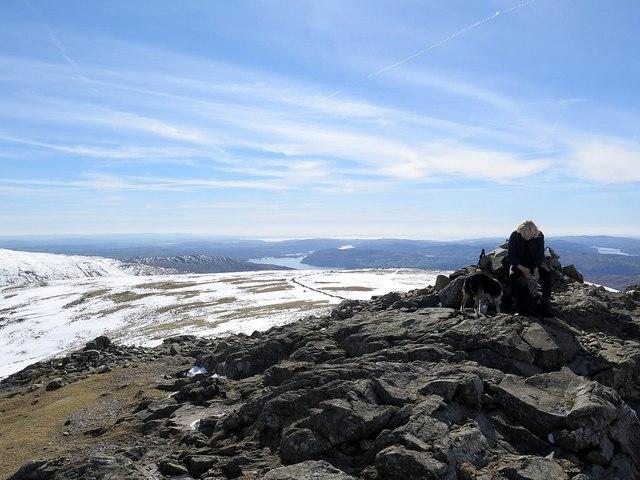 Summit of Dove Crag