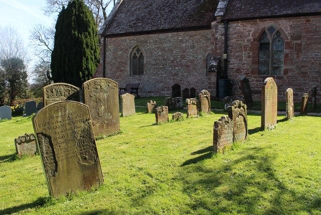 Linton churchyard