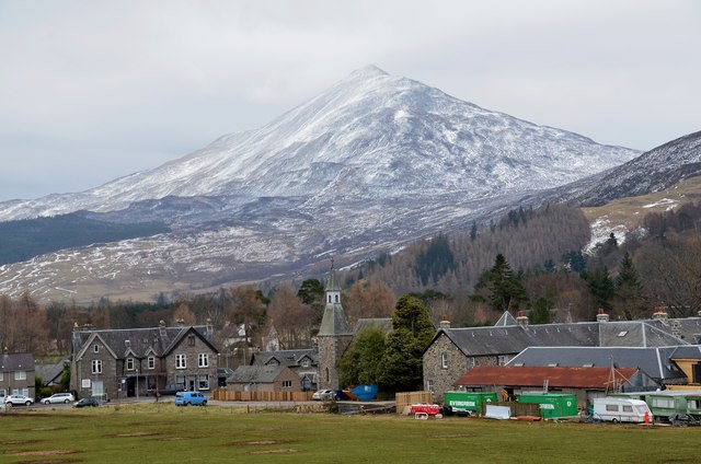 Schiehallion above Kinloch Rannoch