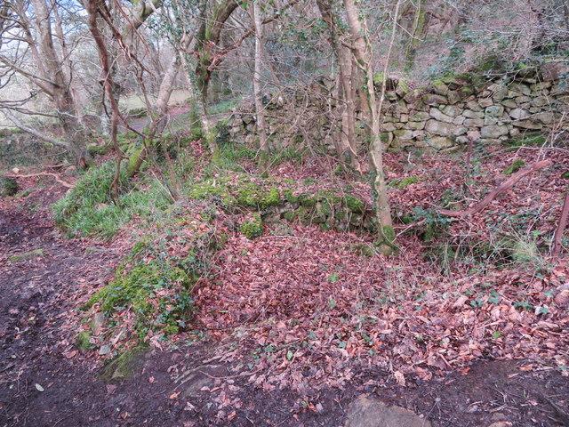 Former well on Mynydd Tir y Cwmwd, Llanbedrog