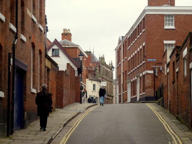 Swan Hill, Shrewsbury