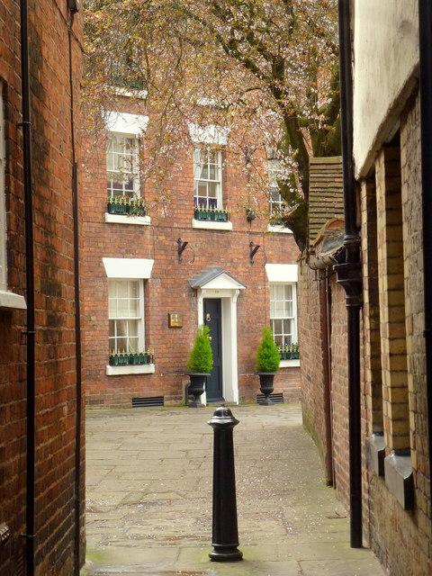 Another Shrewsbury alleyway