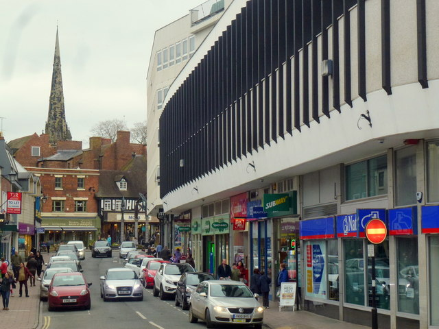 Claremont Street, Shrewsbury
