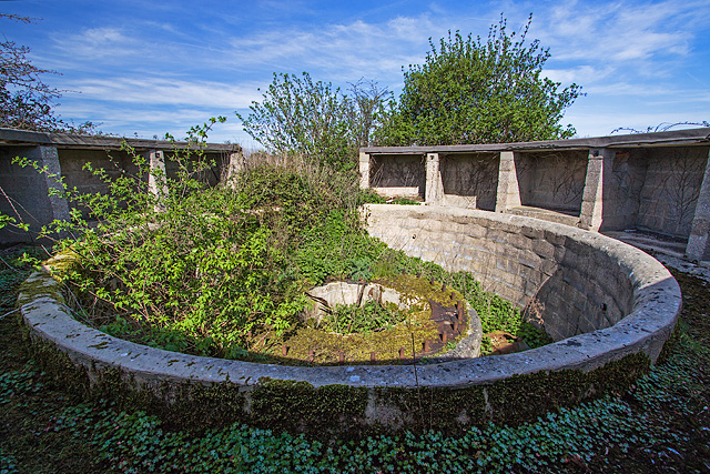 WWII Hampshire: Hayling Island - Northney Heavy Anti-Aircraft Battery (6)